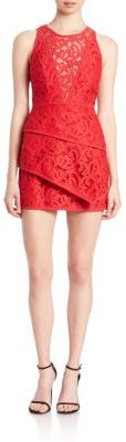 BCBGMAXAZRIA Hanah Tiered Dress $398 thestylecure.com