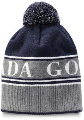 a4156bfa06204 Canada Goose Men s Logo Toque Beanie Hat w  Pompom