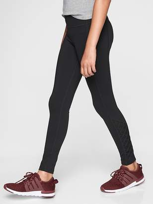 Athleta Girl Mind The Mat Lattice Tight