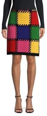 Escada Sport Knit Patchwork Skirt