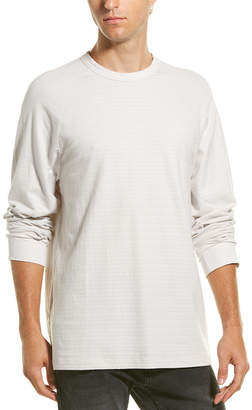 James Perse Shadow Striped Raglan Pullover