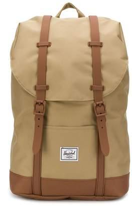 Herschel canvas retreat backpack
