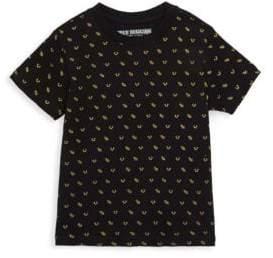 True Religion Little Girl's Monogram Graphic T-Shirt