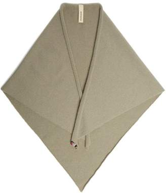 Extreme Cashmere - No.35 Cashmere Blend Triangle Scarf - Womens - Grey