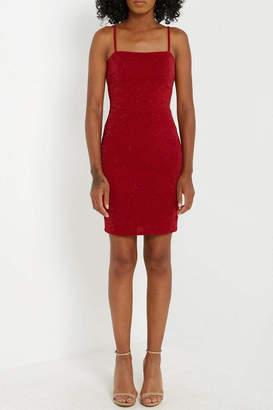 Soprano Red Sparkle Dress