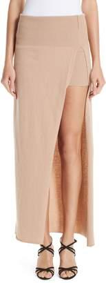 Jacquemus La Jupe Peron Knit Skirt