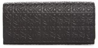 Loewe Continental Leather Zip Wallet