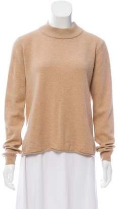 Michelle Mason Wool Open Back Sweater