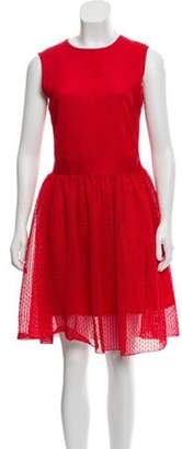 Christian Dior Crochet Sleeveless Dress Crochet Sleeveless Dress