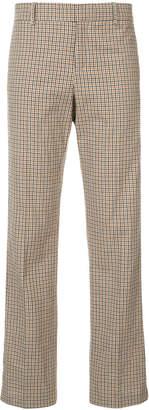 Faith Connexion Kappa plaid trousers