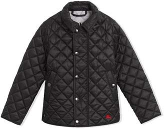 Burberry TEEN quilted jacket