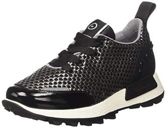 Barracuda Women B00FR241F Low Trainers Black Size: