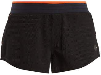 The Upside Midnight honeycomb-jersey performance shorts