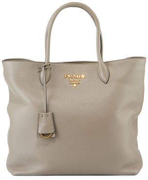 Prada Daino Shopper Tote Bag