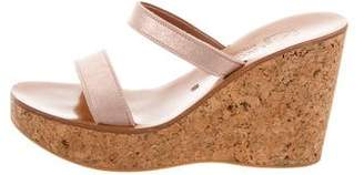 K Jacques St Tropez Platform Wedge Sandals