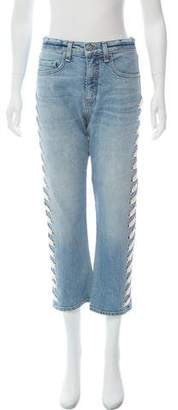 Veronica Beard Mid-Rise Straight-Leg Jeans w/ Tags