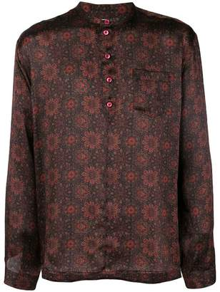 Saint Laurent paisley print fitted shirt