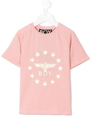 Boy London Kids printed logo T-shirt