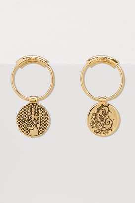 Chloé Coins earrings