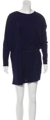 MM6 MAISON MARGIELA Long Sleeve Belted Dress