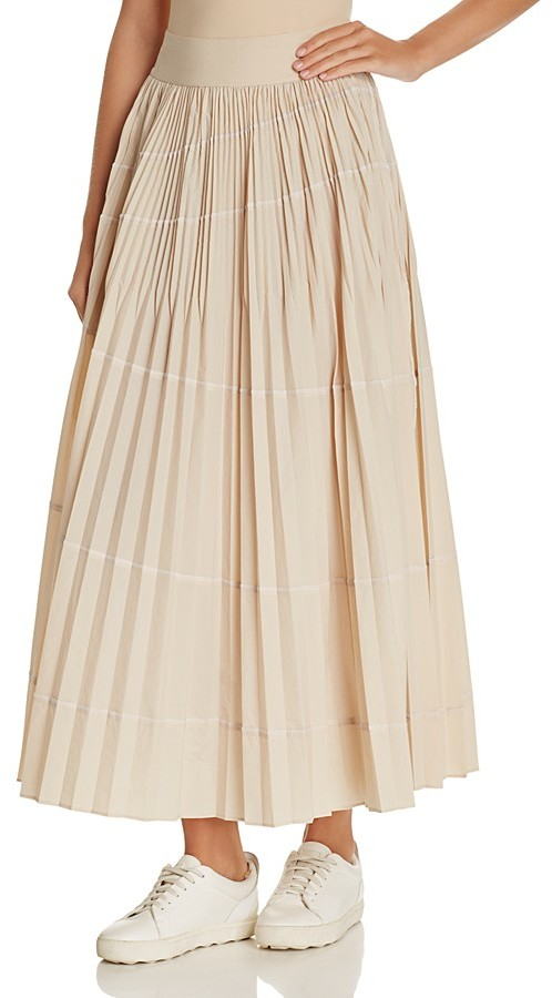 DKNY DKNY Accordion Pleat Maxi Skirt