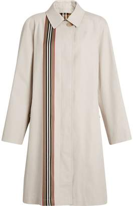 Burberry Heritage Ribbon Cotton Gabardine Car Coat
