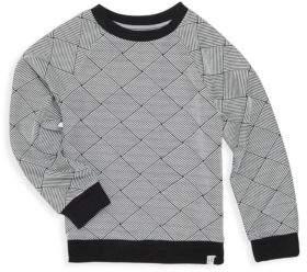 Sovereign Code Little Boy's & Boy's Poway Basket Weave Sweater