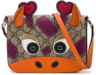 Gucci Kids cow design shoulder bag