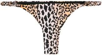 Reina Olga leopard print bikini bottom