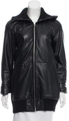 Marc Jacobs Oversize Leather Jacket