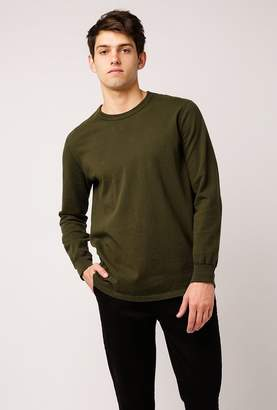 Welcome Stranger Long Sleeve Crew Neck T-Shirt