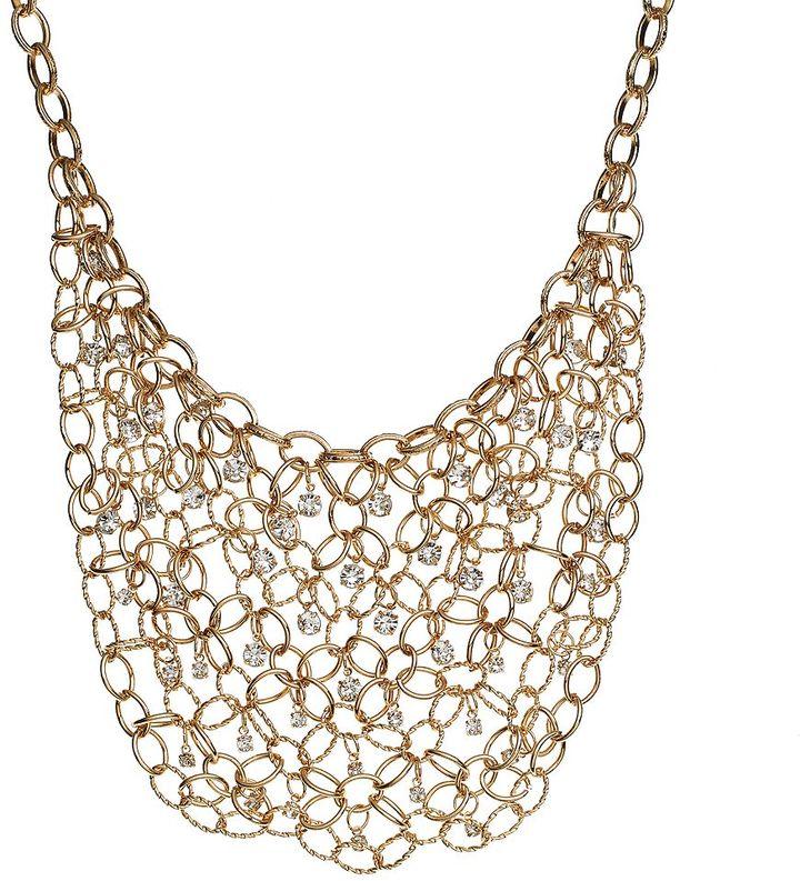JLO by Jennifer Lopez oval-link bib necklace