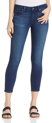 PAIGE Verdugo Crop Skinny Jeans in Edie $189 thestylecure.com