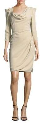 Vivienne Westwood Solid Three-Quarter-Sleeve Sheath Dress
