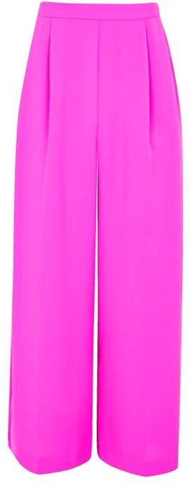 Topshop Topshop Crop wide leg trousers