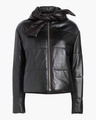 Veda Sharpe Leather Puffer Jacket
