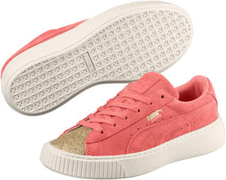 Suede Glam JR Girls' Sneakers