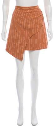 C/Meo Collective Asymmetrical Knee-Length Skirt w/ Tags
