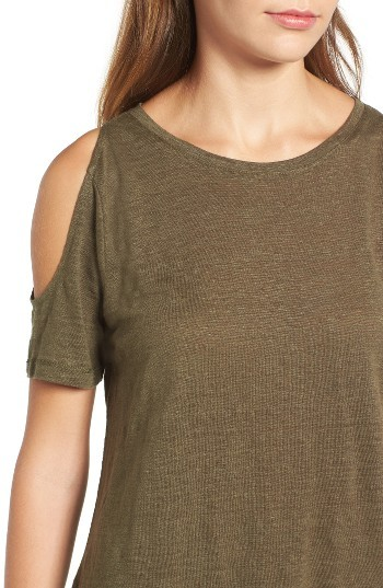 Women's Sanctuary Lou Cold Shoulder Tee 2