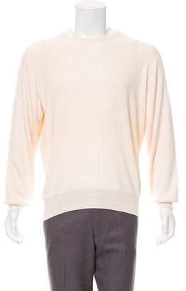 Ralph Lauren Purple Label Silk Crew Neck Sweater w/ Tags