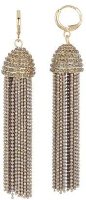 Jessica Simpson Tassel Cup Dangle Earrings