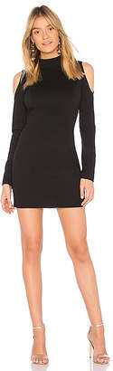 Bobi BLACK Knit Boucle Dress