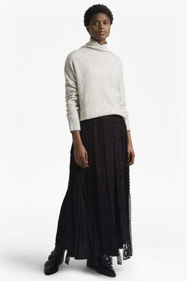 French Connection Classic Crepe Light Woven Maxi Skirt