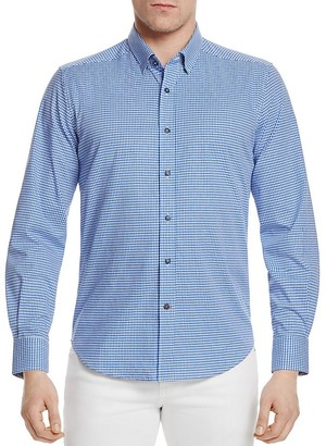 Robert Graham Modern American Gingham Slim Fit Button-Down Shirt $148 thestylecure.com