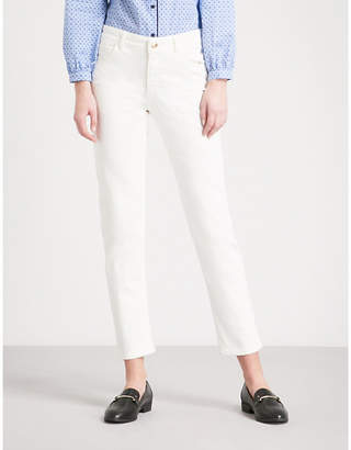 Claudie Pierlot Straight cropped mid-rise jeans