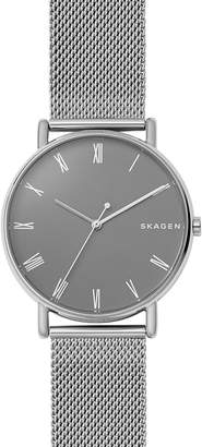 Skagen Signatur Mesh Strap Watch, 40mm