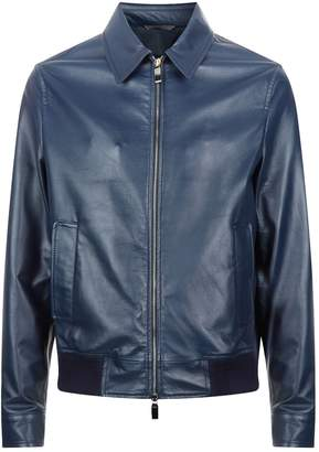 Canali Leather Jacket