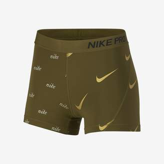 "Nike Pro Women's 3"" Metallic Shorts"