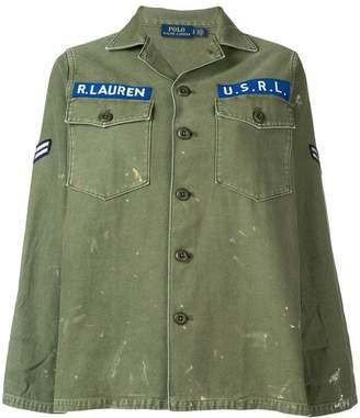 Polo Ralph Lauren denim logo shirt jacket