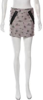 Kelly Wearstler Tweed mini Skirt